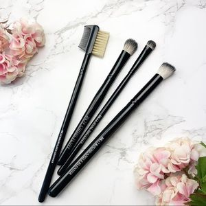 Crown Luna 4-Piece Eye Brush Set